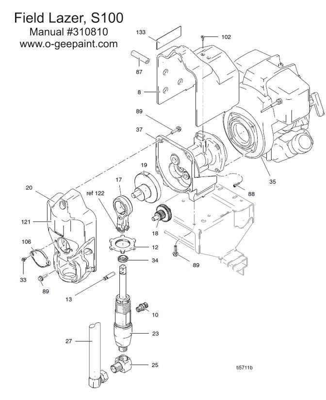 Graco Linelazer Pump Diagram
