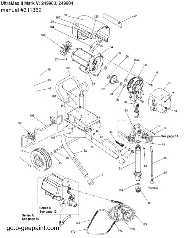 graco texture sprayer wiring diagram graco hvlp sprayers