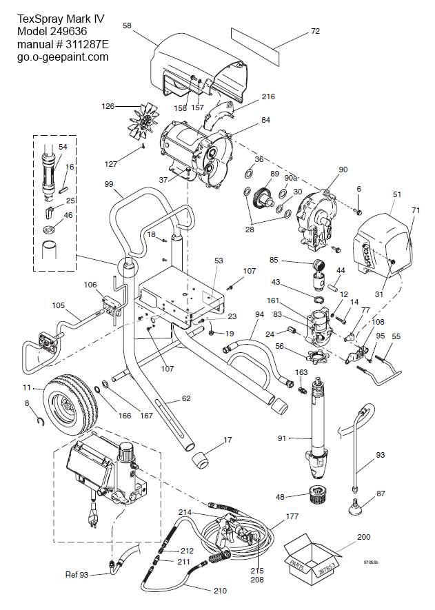 Tex Spray Gun Diagram Complete Wiring Diagrams