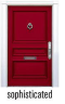 FRONT DOOR - SOPHISTICATED RED*