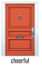 FRONT DOOR PAINT CHEERFUL ORANGE
